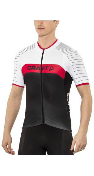 Craft Gran Fondo Jersey Men black/bright red